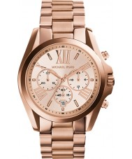 Michael Kors MK5503 Ladies Bradshaw subiu relógio cronógrafo de ouro