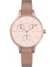 Radley RY4248 Ladies soho rosa banhado a ouro de malha de relógio