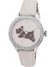 Radley RY2205 pulseira de couro Ladies creme assistir com pedras