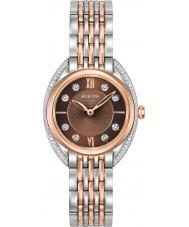 Bulova 98R230 Ladies Diamond Curv Watch