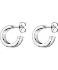 Calvin Klein KJ06ME040100 Brincos de gancho para senhoras