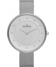 Skagen SKW2140 Ladies Klassik relógio malha de prata