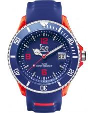 Ice-Watch 001330 exclusivo relógio pulseira de silicone azul Ice-desportivo