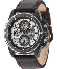 Police 14688JSBS-04 Relógio lunático para homens