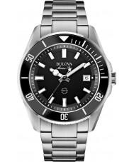 Bulova 98B203 Mens estrela marinha aço de prata pulseira de relógio