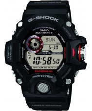 Casio GW-9400-1ER Mens prémio g-choque de rádio triplo do sensor controlado relógio movido a energia solar