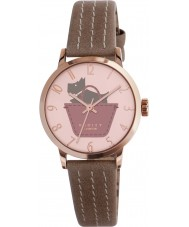 Radley RY2346 marsupial fronteira senhoras e relógio pulseira rosa obscuro
