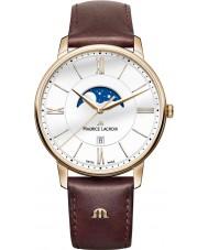 Maurice Lacroix EL1108-PVP01-112-1 Mens Eliros marrom relógio de pulseira de couro
