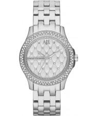 Armani Exchange AX5215 Senhoras prata relógio de vestido pulseira