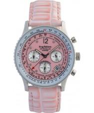 Krug-Baumen 400515DS viajante Air pulseira rosa mostrador rosa