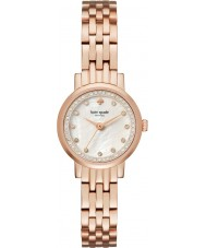 Kate Spade New York KSW1243 Senhoras mini-Monterey subiu relógio pulseira de aço de ouro
