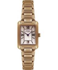 Rotary LB02652-41 Senhoras relógios de ouro relógio banhado