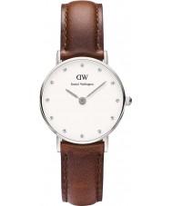 Daniel Wellington DW00100067 Ladies elegante st mawes 26 milímetros relógio de prata