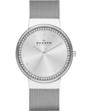 Skagen SKW2152 Ladies Klassik relógio malha de prata