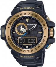 Casio GWN-1000GB-1AER Mens g-choque preto solar, bússola e altímetro alimentado combi assistir