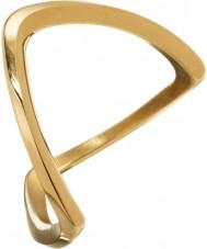 Edblad 3153441919-S Ladies Kavala banhado a ouro anel - tamanho n (s)