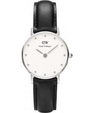 Daniel Wellington DW00100068 Ladies elegante Sheffield relógio 26 milímetros de prata