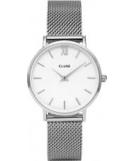 Cluse CL30009 relógio Ladies minuit malha
