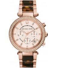 Michael Kors MK5538 Ladies parker dois tons relógio cronógrafo