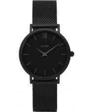 Cluse CL30011 relógio Ladies minuit malha