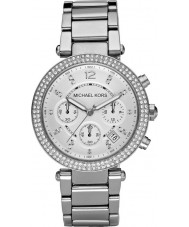 Michael Kors MK5353 Ladies blair tom de prata relógio cronógrafo