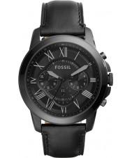 Fossil FS5132 Mens conceder relógio cronógrafo preto