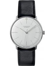Junghans 027-3501-00 Max Bill relógio automático preto