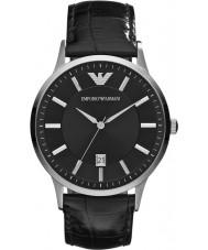 Emporio Armani AR2411 Mens relógio preto clássico