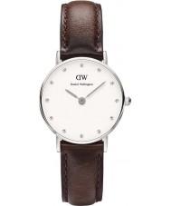 Daniel Wellington DW00100070 Ladies elegante relógio Bristol 26 milímetros de prata