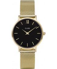 Cluse CL30012 relógio Ladies minuit malha