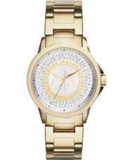 Armani Exchange AX4321 Ladies ouro urbana banhado a pedra definir relógio