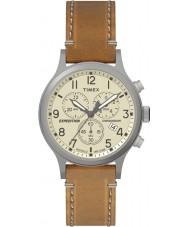 Timex TW4B09200 Mens expedição tan couro relógio pulseira