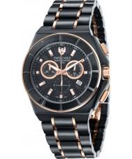 Swiss Eagle SE-9053-44 Mens polar rei cronógrafo Black Watch