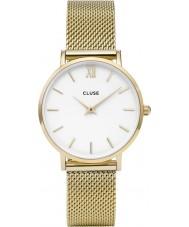 Cluse CL30010 relógio Ladies minuit malha
