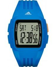 Adidas Performance ADP3234 Duramo azul resina relógio de pulseira