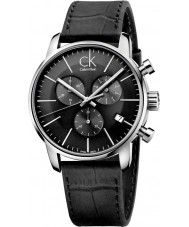 Calvin Klein K2G271C3 cidade dos homens relógio cronógrafo preto