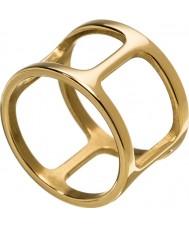 Edblad 3153441913-XL Ladies ouro amarelo helena anel banhado - tamanho s (XL)