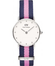 Daniel Wellington DW00100073 Ladies elegante winchester relógio 26 milímetros de prata