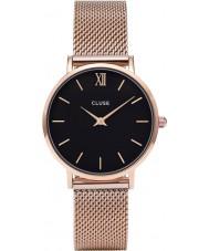 Cluse CL30016 relógio Ladies minuit malha