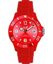 Ice-Watch 000139 Sili relógio cinta para sempre vermelho