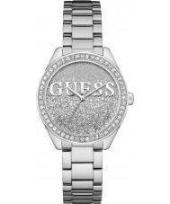 Guess W0987L1 As senhoras de glitter relógio menina