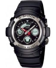 Casio AW-590-1AER Mens relógio de g-choque cronógrafo esportes