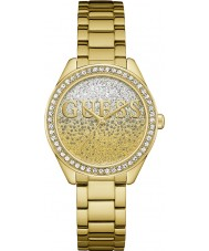 Guess W0987L2 As senhoras de glitter relógio menina