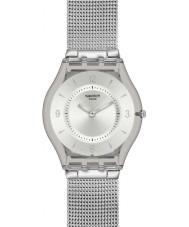 Swatch SFM118M Skin - de metal malha relógio