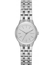 DKNY NY2490 Parque das senhoras inclinação de aço de prata pulseira de relógio