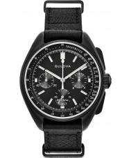 Bulova 98A186 Relógio cronógrafo piloto lunar mens