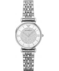 Emporio Armani AR1925 Senhoras prata relógio de vestido