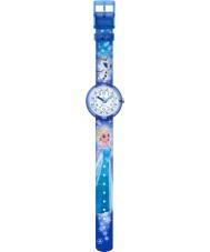 Flik Flak FLNP023 Meninas Disney Elsa congelado e relógio multicolorida OLAF