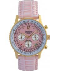 Krug-Baumen 400215DS viajante Air pulseira rosa mostrador rosa