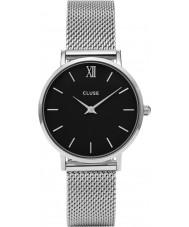 Cluse CL30015 relógio Ladies minuit malha